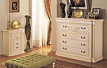 night collection Florentine art finish with pink fresco and ochre colour wash