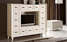 TVTODP TV cabinet with drawers / pRtod pouffe