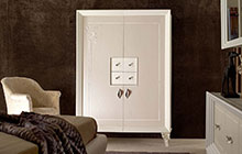 MOBTOD2F 2-door cabinet with central drawers